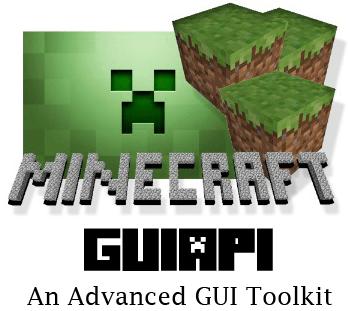 GUI API Mod Minecraft 1.4.6